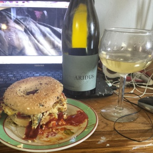 Aridus 2013 Viognier..with Breakfast? Yes.