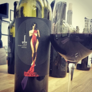 2012 Gallia. Such an insanely sexy label.