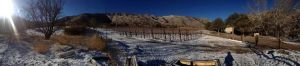 Colibri Vineyard in Winter, photo by Gary Kurtz