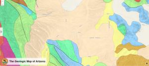 Geological Map of Sonoita/Elgin. Rough scale: 1 inch=1 mile. http://data.azgs.az.gov/geologic-map-of-arizona/#