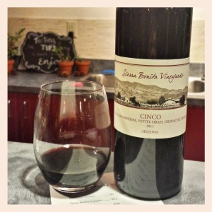 2011 Cinco, Sierra Bonita Vineyards