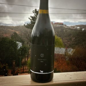 2013 Capra Tannat, with the mists of Jerome in the background