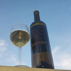 2013 Mid Block Malvasia from Stronghold standing against the sky
