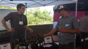 Michael Pierce released his new 2013 Syrah, from Cochise County.