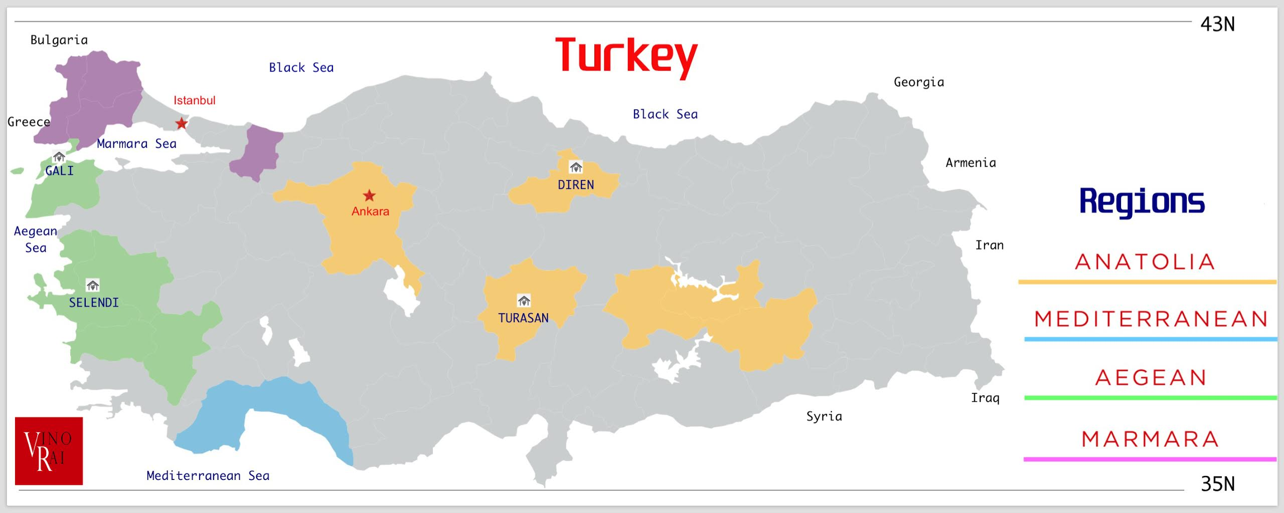 The Wine Monk Abroad: Turkey and an exploration of Turkish Wine